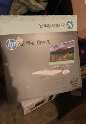 Hp built in computer ,brand new,comes with everything got my kid the wrong computer make offers if they are reasonable for Sale in Sidney, OH
