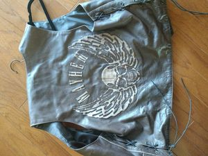 Brown motorcycle vest for Sale in Valrico, FL