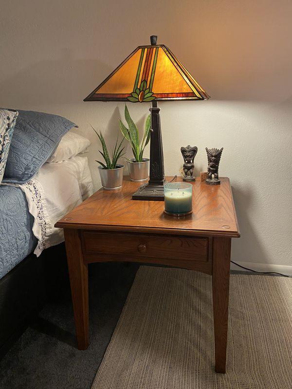 3 Pc Bedroom Table Set
