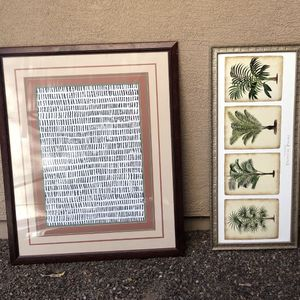 2 Very Large Paintings In Frames for Sale in Glendale, AZ