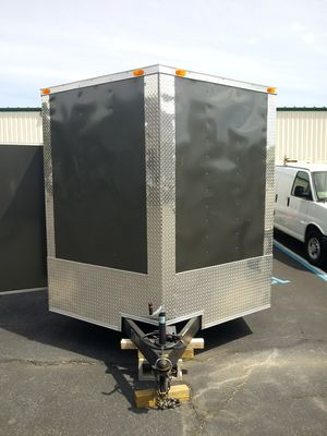 5x8 $2899 8x24 $7999 8.5x32 $11999 Enclosed Vnose Trailers for Sale in Huntington, NY