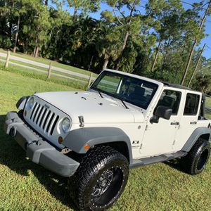 2008 Jeep Wrangler Unlimited Sport for Sale in Jupiter, FL