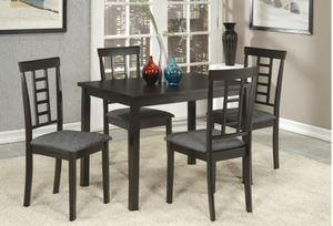 New!! Black 5 pcs dining set for Sale in Las Vegas, NV