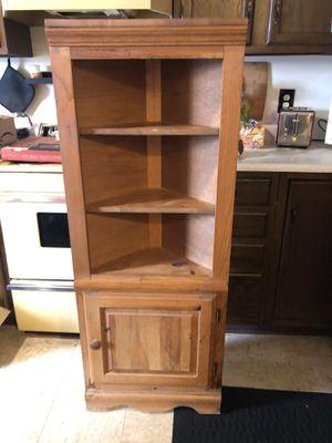 Wooden corner shelf for Sale in Taylor Mill, KY
