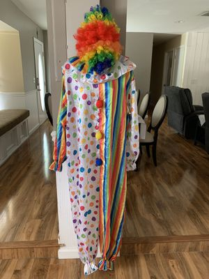 Clown Halloween costume for Sale in Valrico, FL