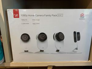 YI 4pc Home Camera, 1080p for Sale in Raleigh, NC