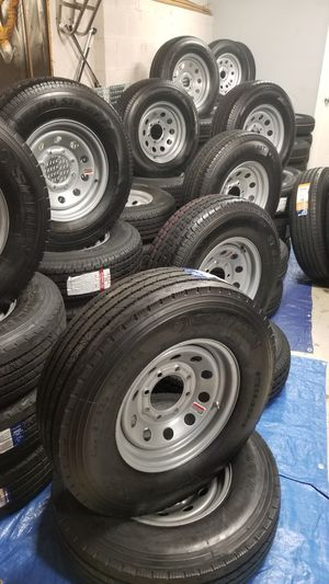 $70 AND UP NEW TRAILER TIRES AND WHEELS for Sale in Douglasville, GA