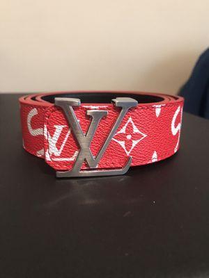 Supreme Louis Vuitton Belt for Sale in Lexington, KY