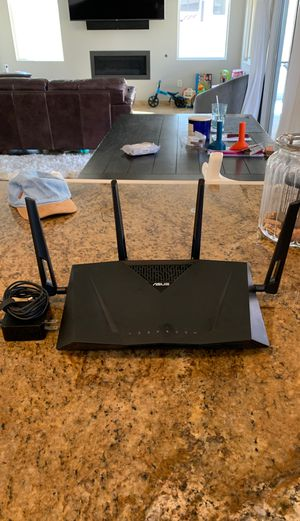 Asus ac3100 dual band gigabit router for Sale in Las Vegas, NV
