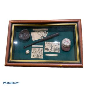Baseball History Collectors Frame for Sale in Humble, TX