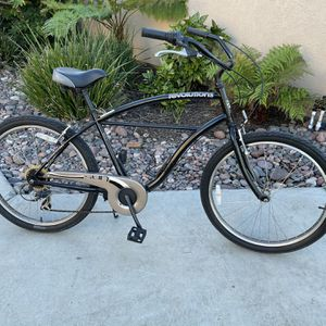 "Sun Revolutions 7-Speed Beach Cruiser 26"" Wheels ""Black"" for Sale in Lakeside, CA"