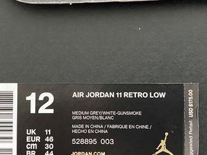Grey Jordan 11 Lows (Size 12) for Sale in Orlando, FL