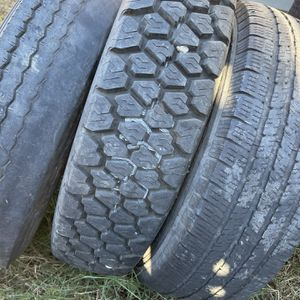 Motorhome tires with wheels (a lot), 2 motorhome Driving Chairs, old Paint for Sale in San Diego, CA