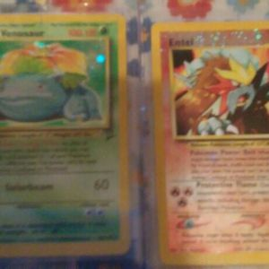 Entei And Venusaur Pokemon Cards for Sale in Chicago, IL