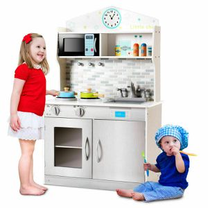 HW58833 Pretend Cooking Playset Indoor Play Game Equipment Kid Toys Cookware Kitchen for Sale in Santa Ana, CA