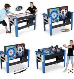 Kids Air Hockey Table, Multi Game Play for Sale in West Hills,  CA