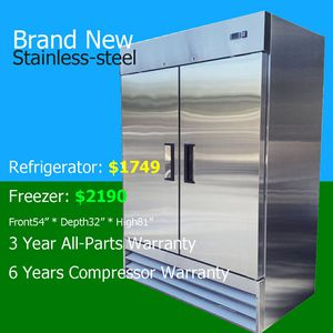 Commercial refrigerator /freezer nsf certified restaurant fridge for Sale in Los Angeles, CA