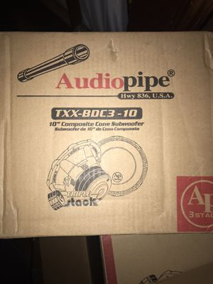 Audio pipe bd3 for Sale in Swatara, PA