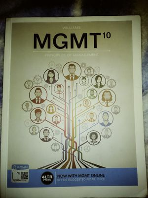 MGMT 10 principles of management for Sale in Chandler, AZ