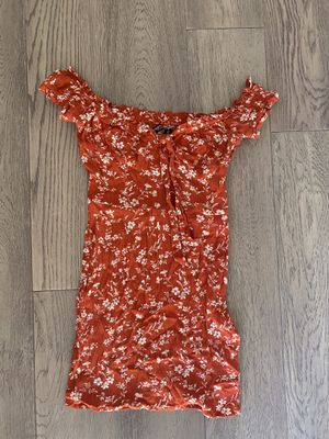 Nasty Gal Off Shoulder Dress- Size Small for Sale in Campbell, CA