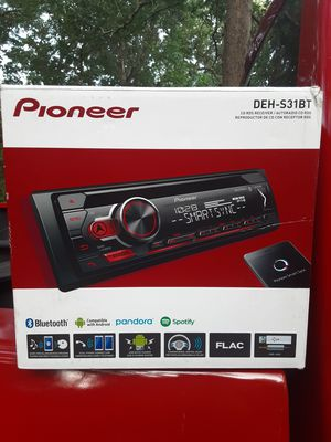 Pioneer DEH-S31BT Bluetooth Headunit for Sale in Hartwell, GA