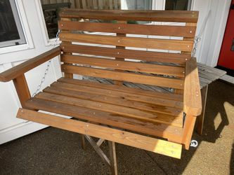 Outdoor Wooden Porch Swing for Sale in Portland,  OR
