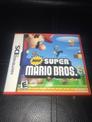 New Super Mario Bros Nintendo DS for Sale in Corona, CA