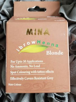 Mina Professional Eyebrow Henna Pack for Sale in North Riverside,  IL