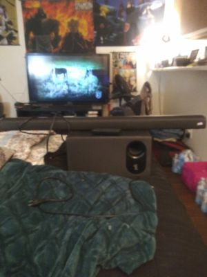 Polk Audio SIGNA S2 Ultra-Slim Universal TV Sound Bar with Wireless Subwoofer for Sale in Phoenix, AZ