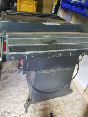 Craftsman table saw with extentions for Sale in CANAL WNCHSTR, OH