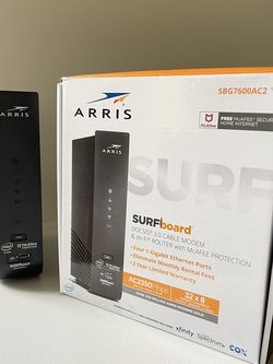 ARRIS Wi-Fi Router & Cable Modem - Approved for Cox, Spectrum, Xfinity & others for Sale in Manalapan Township,  NJ