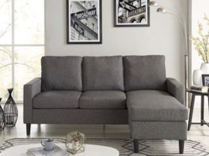 Grey sectional couch for Sale in Boston, MA
