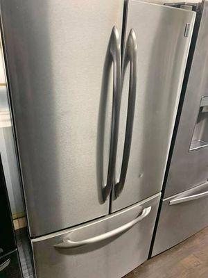 FREE DELIVERY! GE Refrigerator Fridge French Door 3-Door With Icemaker #925 for Sale in Riverside, CA