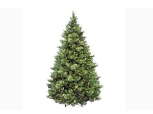 7.5' Monarch Pre-Lite Christmas Tree with 1,200 clear lights. for Sale in Plum, PA