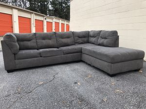 Grey sectional sofa bed for Sale in Doraville, GA