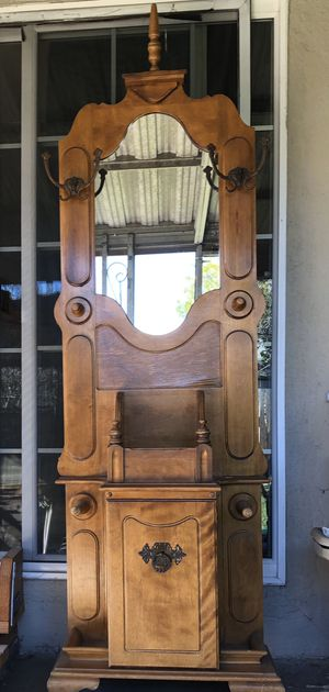 Antique Mirror with 1 Cabinet for Sale in Hayward, CA