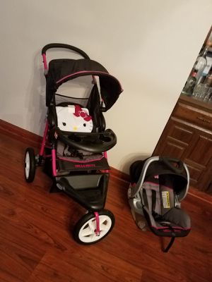 Hello kitty baby trend for Sale in Houston, TX