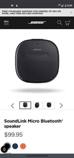 Bose micro soundlink speaker for Sale in San Jose, CA