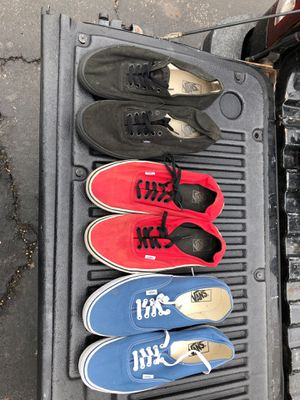 Vans size 12 for Sale in Bartlett, IL