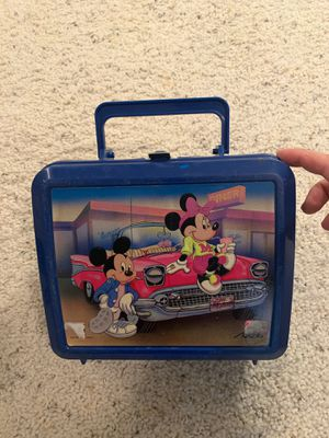 Classic Disney Mickey and Minnie Lunchbox for Sale in River Forest, IL