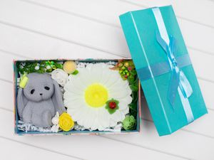 Handmade soap sets in the gift box for Sale in Wheeling, IL