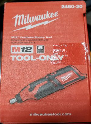 Milwaukee m12 Cordless Rotary Tool for Sale in Yucaipa, CA