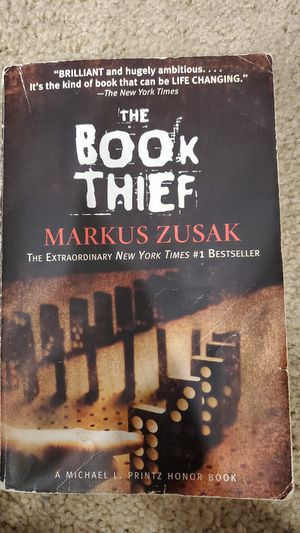 Book Thief Markus Zusak for Sale in Virginia Beach, VA