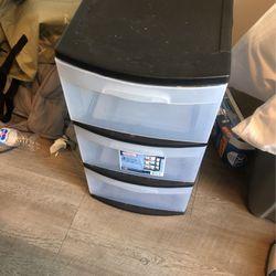 Plastic dresser for Sale in Seattle,  WA