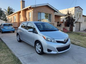 2013 TOYOTA YARIS LE HATCHBACK 63.K MILES ONLY GREAT GAS SAVER READY FOR WORK for Sale in San Leandro, CA