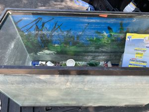 """Fish tank and extra stuff (30""""L 112.5""""W 18.5""""H) for Sale in Las Vegas, NV"""