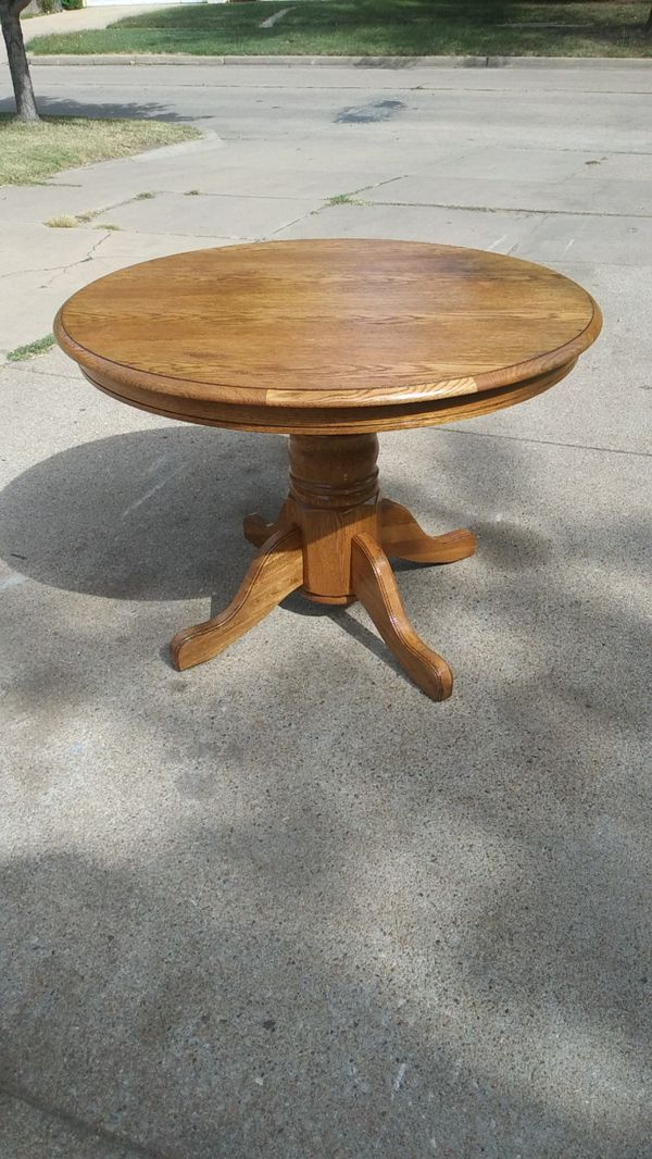 New Solid Wood Kitchen Table