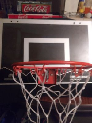 An indoor or outdoor basket ball backboard and hoop. for Sale in Rio Rancho, NM