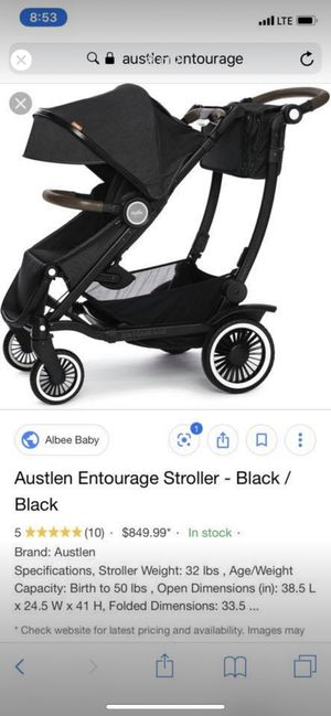 Austlen entourage stroller for Sale in Stratford, CT