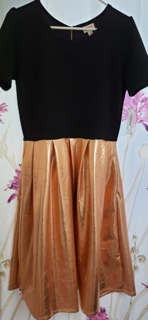 Lularoe LLR Amelia Size L Large Elegant Dress with pockets brand New with tags for Sale in Pittsburg, CA